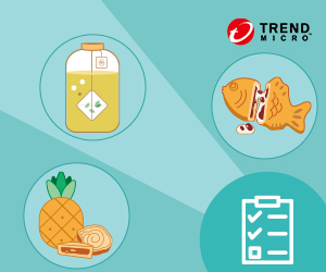 參觀資安解決方案並填妥問卷 ,可獲得限量台灣道地甜點乙份